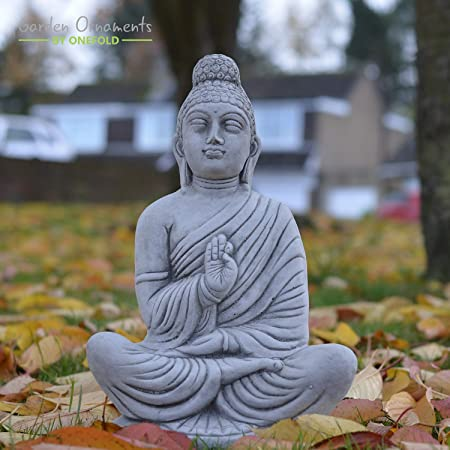 Sitting Thai Bouddha décoration de jardin maison décoration sculpture spirituel Cadeau