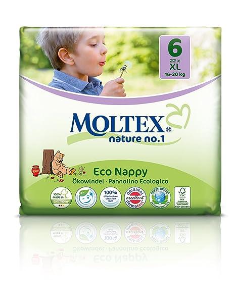 Moltex 28 Couches jetables écologiques Eco XL 16 30 kgs