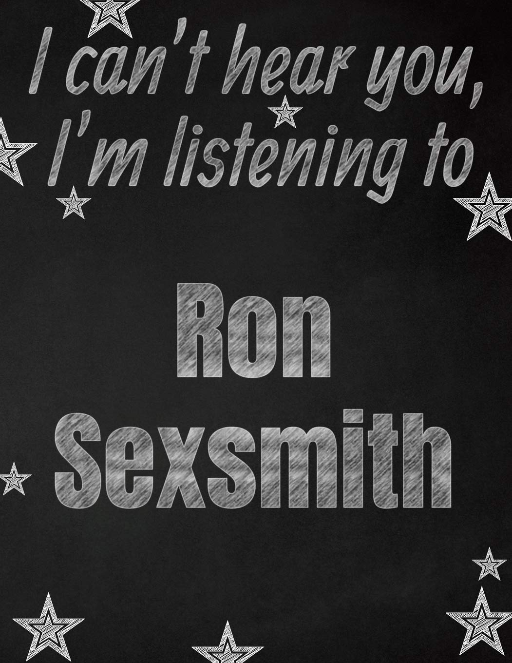 I cant hear you, Im listening to Ron Sexsmith creative ...