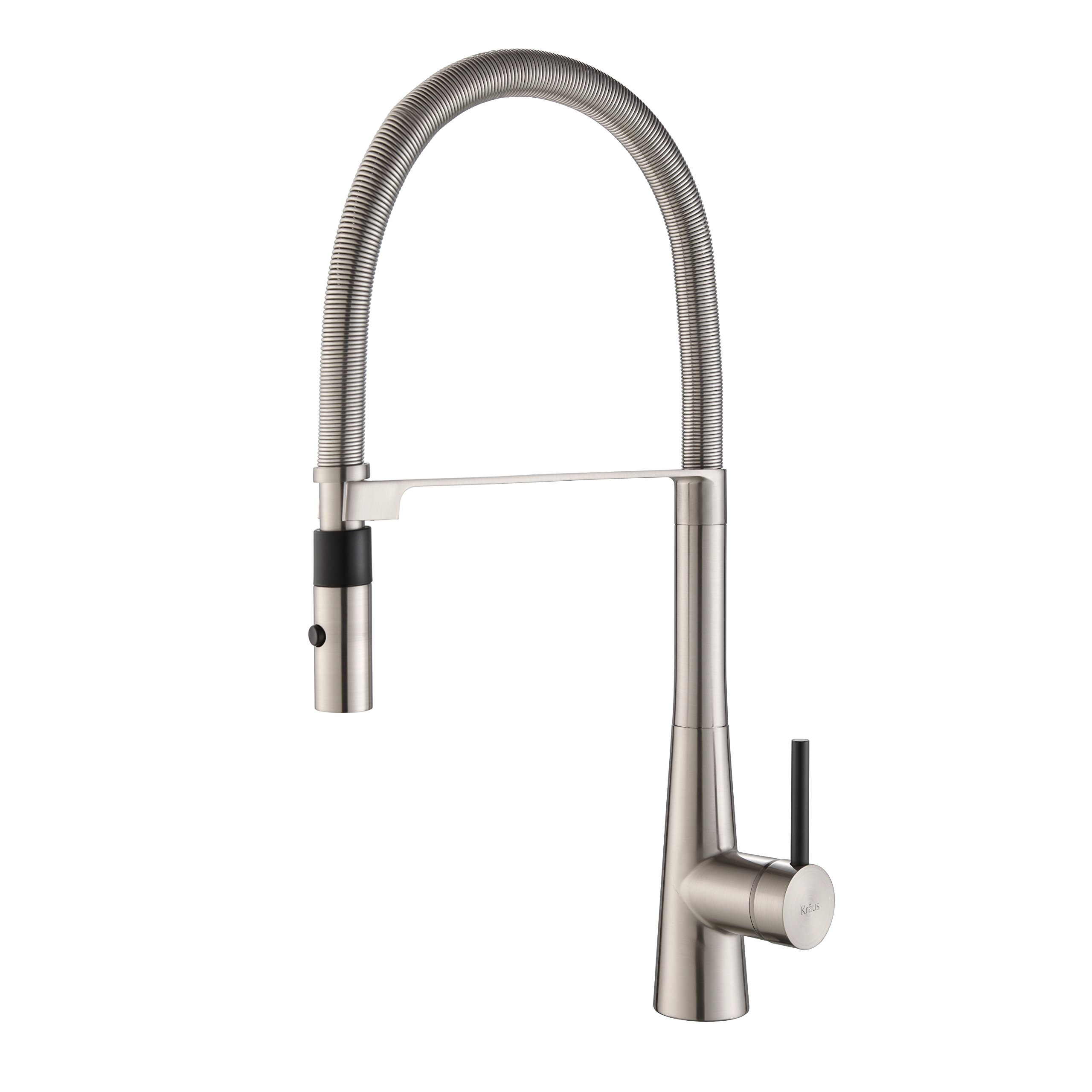 Kraus Kpf-2730Ss Modern Crespo Single Lever Commercial Style Kitchen Faucet W.. 1