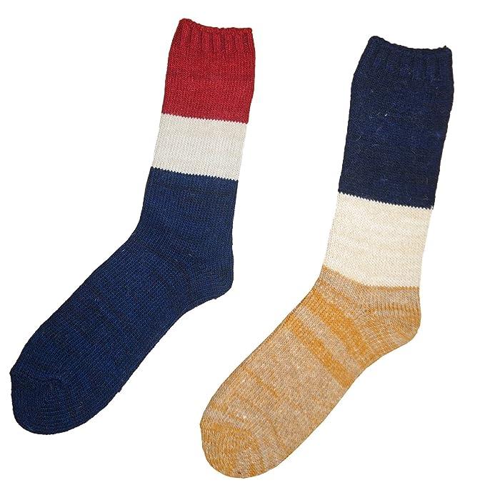 Ladies Angora y mezcla de lana invierno cálido Calcetines longitud de vacuno térmico multicolor 2 pairs/ 1 pair each color 37-40: Amazon.es: Ropa y ...