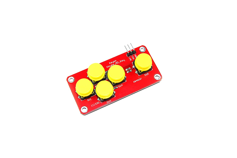Keyes 5/interruttore ad Keypad Module md-129/analogico Arduino Pi