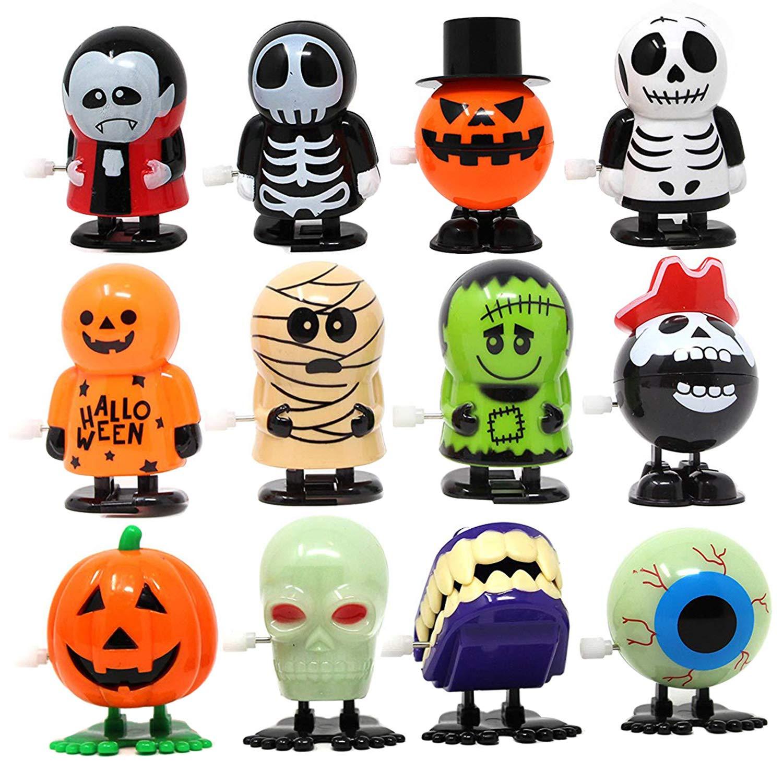 JOYIN 12 Pack Halloween Wind Up Toy Assortments for Halloween Party Favor Goody Bag Filler (12 Pieces Pack) by JOYIN