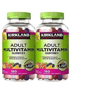 Kirkland Signature Adult Multivitamin, 320 Gummies