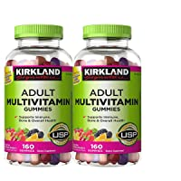 Kirkland Signature cBlWCe Adult Multi Gummies, 4 Pack (640 Count)
