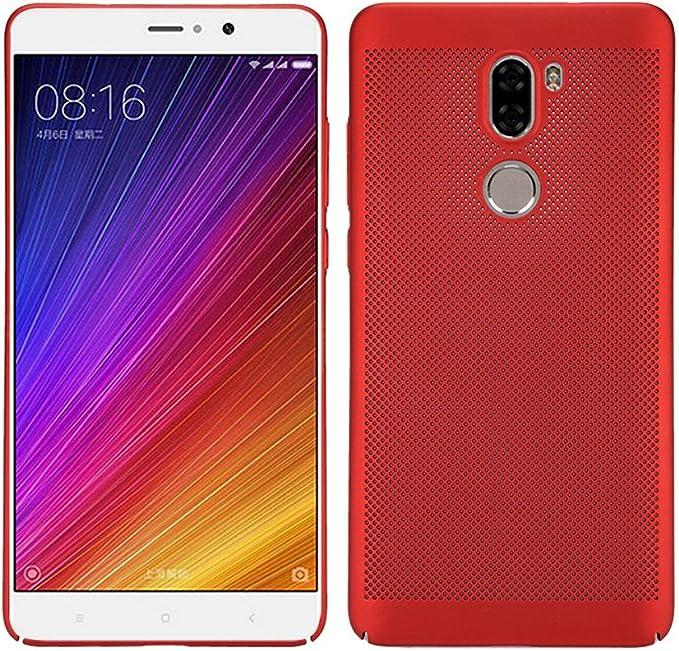 BLUGUL Funda Xiaomi Mi 5s Plus, Respirable Disipación de Calor ...