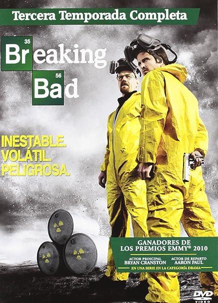 Breaking Bad T3 (4) [DVD]: Amazon.es: Bryan Cranston, Aaron Paul, Anna Gunn, Vince Gilligan, Bryan Cranston, Aaron Paul, Melissa Bernstein, Peter Gould: Cine y Series TV