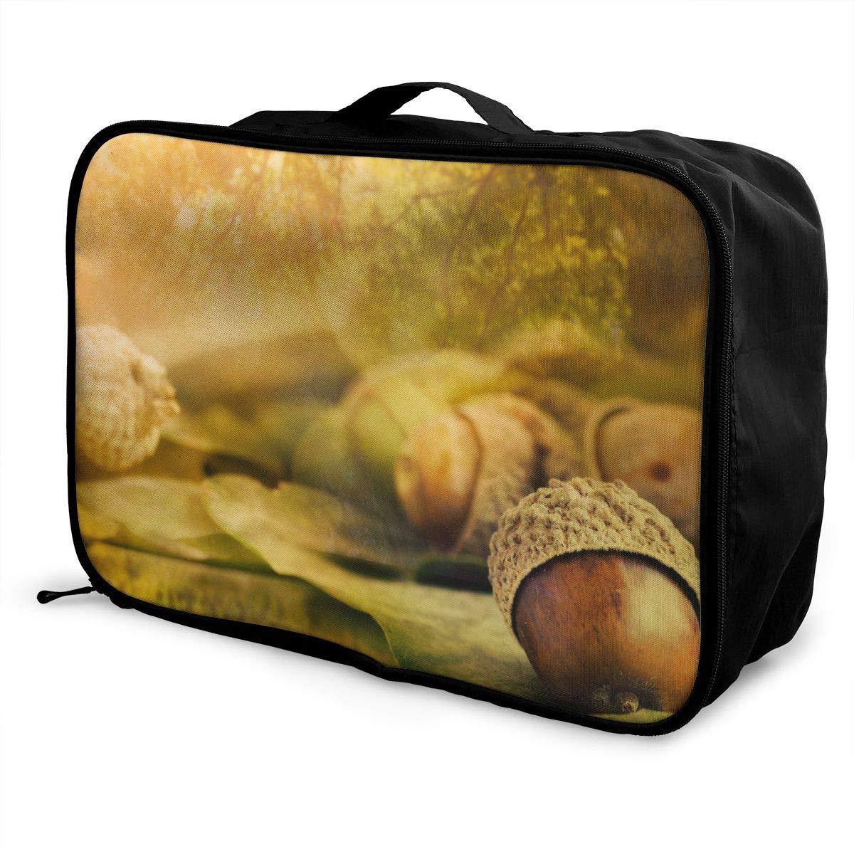 Travel Luggage Duffle Bag Lightweight Portable Handbag Nuts Large Capacity Waterproof Foldable Storage Tote