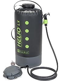 NEMO Helio LX Portable Pressure Shower With Foot Pump