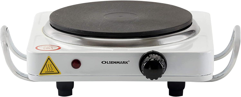 طبق تسخين كهربائي اولسين مارك بقوة 1500 واط، أبيض – (OMHP2288)