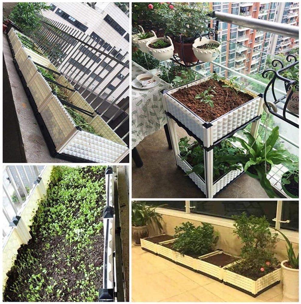 Wgwioo - Juego de Cama para jardín con escurridor, balcón, Patio ...