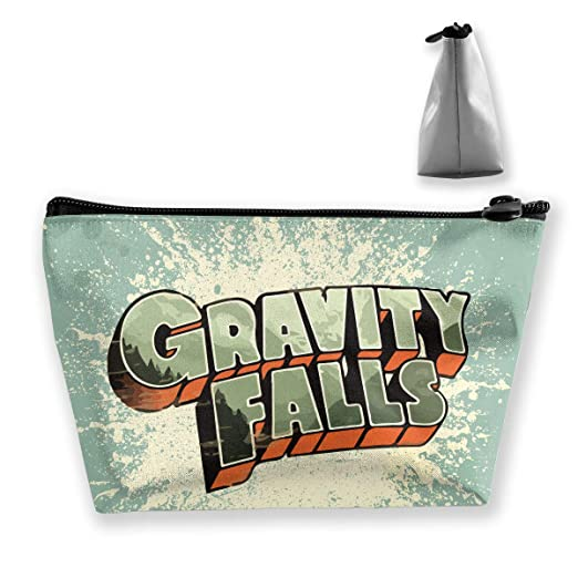 Amazon.com: Gravity Falls Logo Makeup Bag Women Cosmetic Bag ...