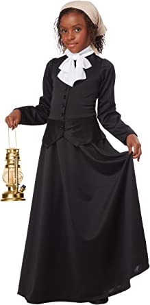 California Costumes Susan B. Anthony/Harriet Tubman Girl Costume, One Color, Small