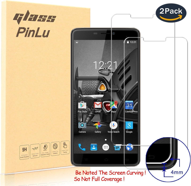 pinlu [2 Pack] Protector de Pantalla de Cristal para Cubot MAX Protector Cristal Vidrio Templado para Cubot MAX [9H/2.5D/0.26mm, 99% Transparente]: Amazon.es: Electrónica