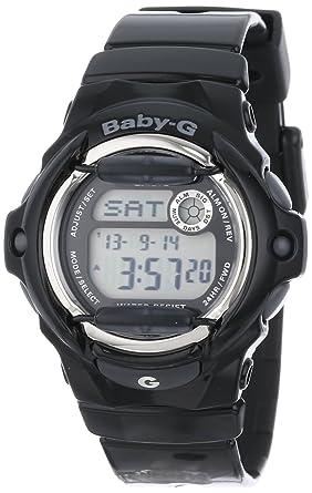 a9b8527c9bb4 Amazon.com  Casio Women s Baby-G Black Whale Digital Sport Watch ...