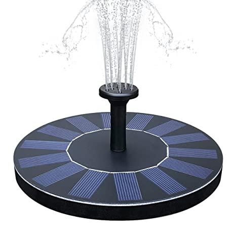 Yaogroo Fontaine Solaire, énergie Solaire Pompes à Eau Fontaine de ...