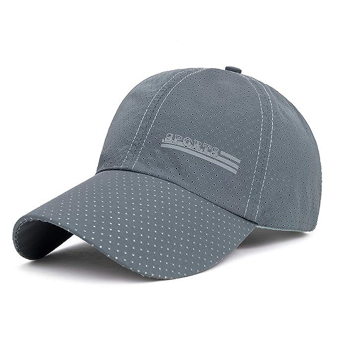 Rzxkad 2019 New Summer Gorras Snapbacks Baseball Cap Men Breathable Quick-Drying Mesh Hats Women