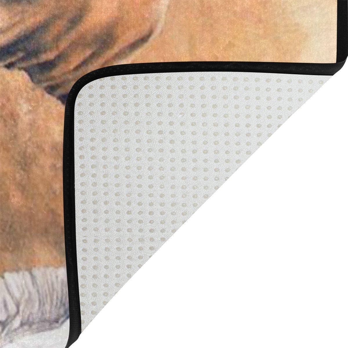 Woor Elefant Kunst Wohnzimmer Essbereich Teppiche 91,4 91,4 91,4 x 61 cm Bed Room Teppiche Büro Teppiche Moderner Boden Teppich Teppiche Home Decor, multi, 6 x 4 Feet 5ec3fb