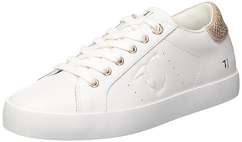 79a00127 Basses Trussardi Sneakers Jeans Femme Multicolore w6qB64nvYx