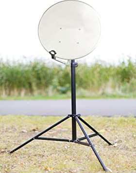 TronicXL Soporte de trípode para antena parabólica de hasta 100 cm