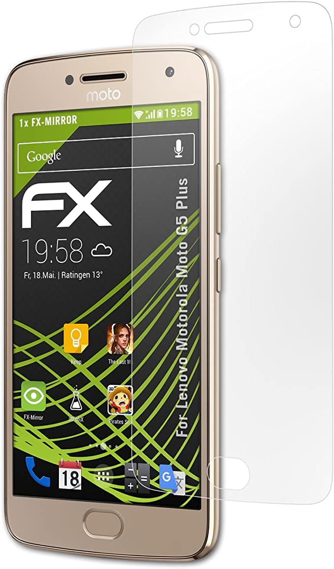 atFoliX Protección de Pantalla para Lenovo Motorola Moto G5 Plus ...
