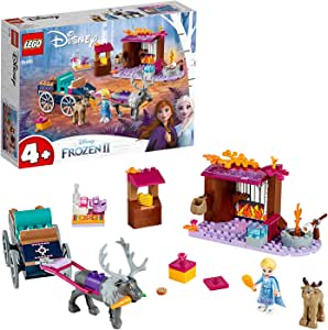 LEGO l Disney Elsa's Wagon Adventure 41166 Building Kit, New 2019
