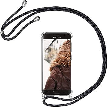 MXKOCO Carcasa de movil con Cuerda para Colgar Samsung Galaxy S7 ...