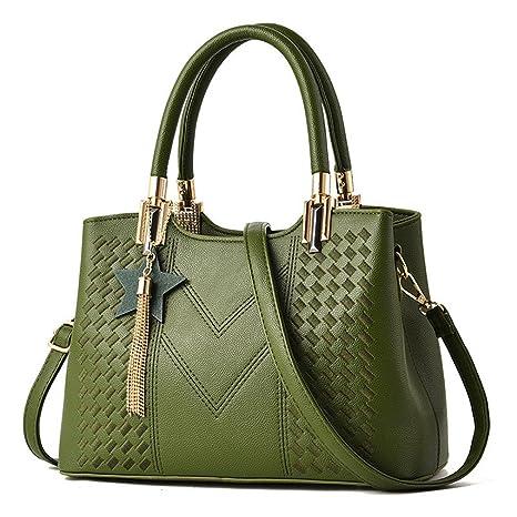 a0d048d48d90 Amazon.com: UOXMDNJC Women Handbags Pu Leather Good Quality Women ...