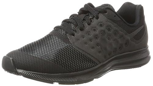 Nike Downshifter 3 Nero Scarpe Da Corsa Casual Taglia UK 4 EU 37.5