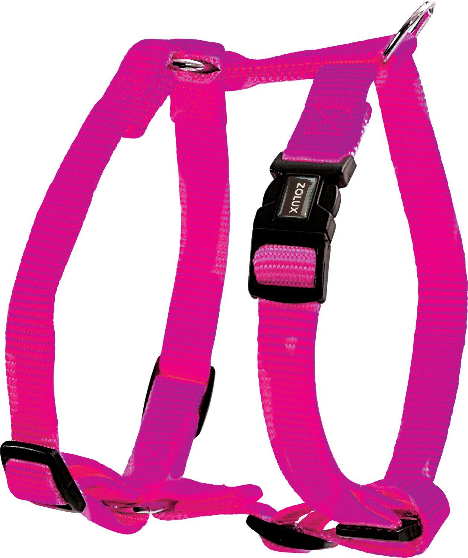 Zolux 20 mm arnés Nylon rosa rosa: Amazon.es: Productos para mascotas