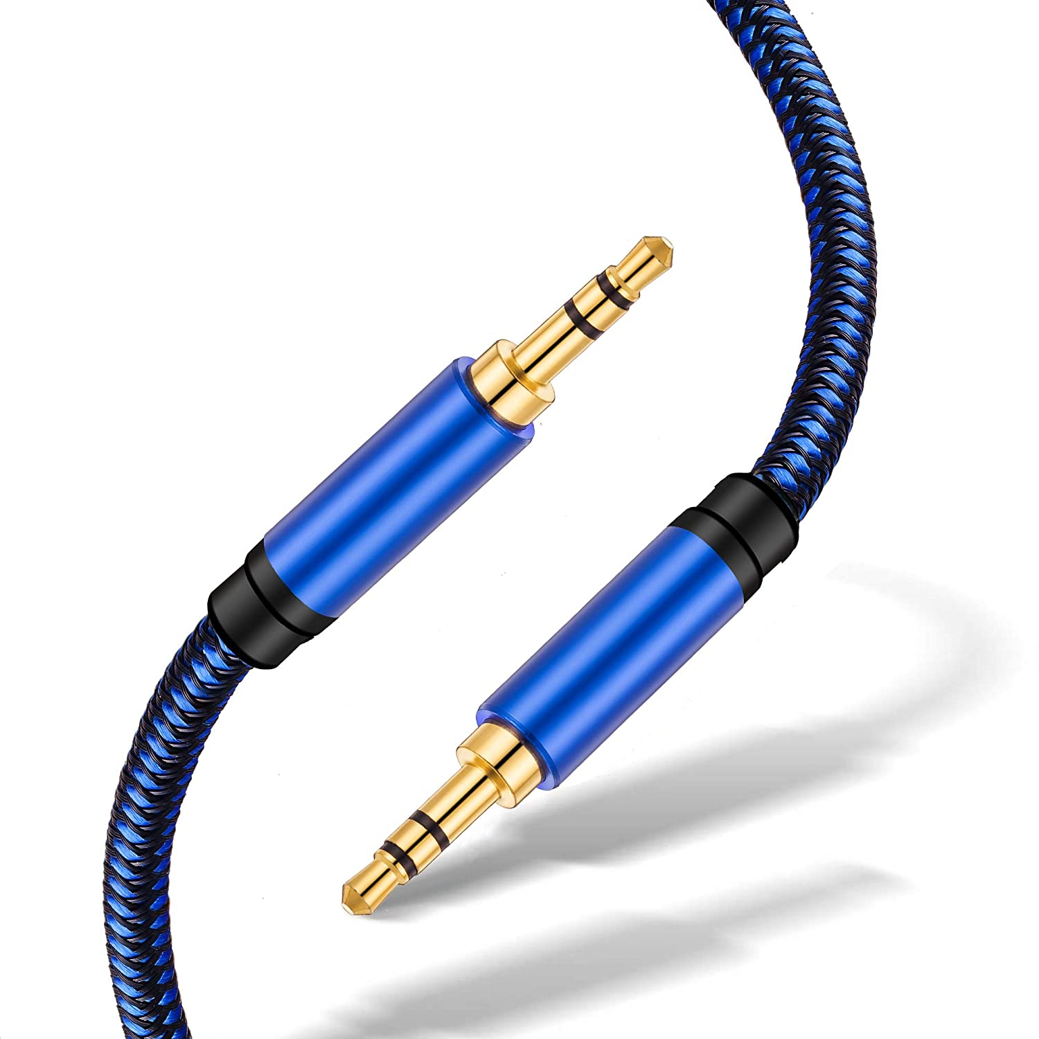 iPad Audio Cable 6ft iPhone Home Car Stereo System and More Smartphone iPod Uperatre 3.5mm Audio Cable Professional HiFi Male to Male Braided Stereo Aux Cord Wire for Headphones Speaker