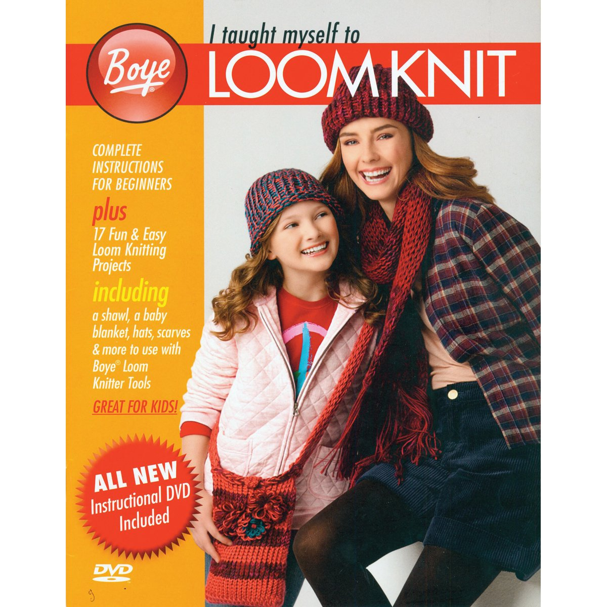 Amazon.com: Wrights 3001001 I Taught Myself To Loom Knit Provo Book
