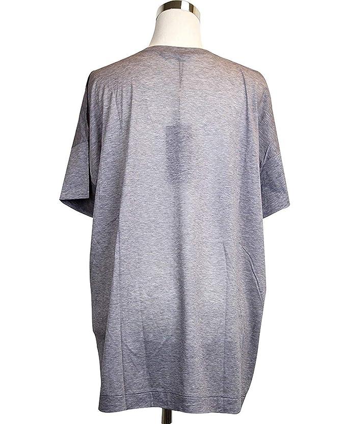 842d91c56 Amazon.com: Gucci Women's MultiColor Cotton Floral Oversize Top T-Shirt  297459 5370 (Size U): Clothing