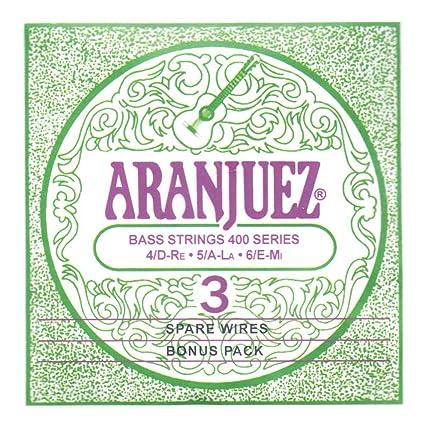 Amazon.com: Aranjuez a400bp Concierto Plata Bass Bonus Pack ...
