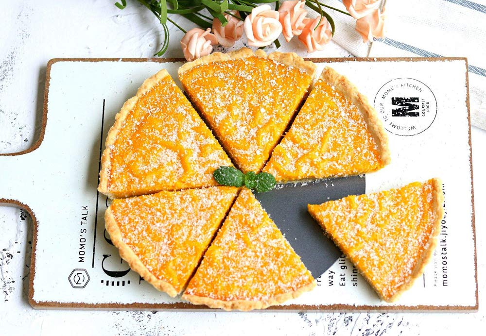 Tart Pie Pan 5 Inch Mini Quiche Pizza Cake Pans with Removable Loose Bottom Non-Stick Round Fluted Flan 4PCS and Silicone Brush