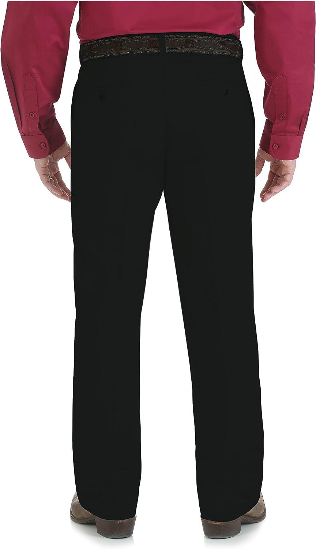 Wrangler Mens Tall Riata Advanced Comfort Flat Front Casual Pant