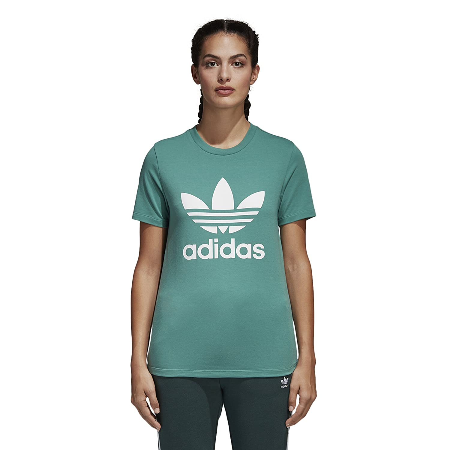 b528d575 adidas Originals Women's Trefoil Tee at Amazon Women's Clothing store: