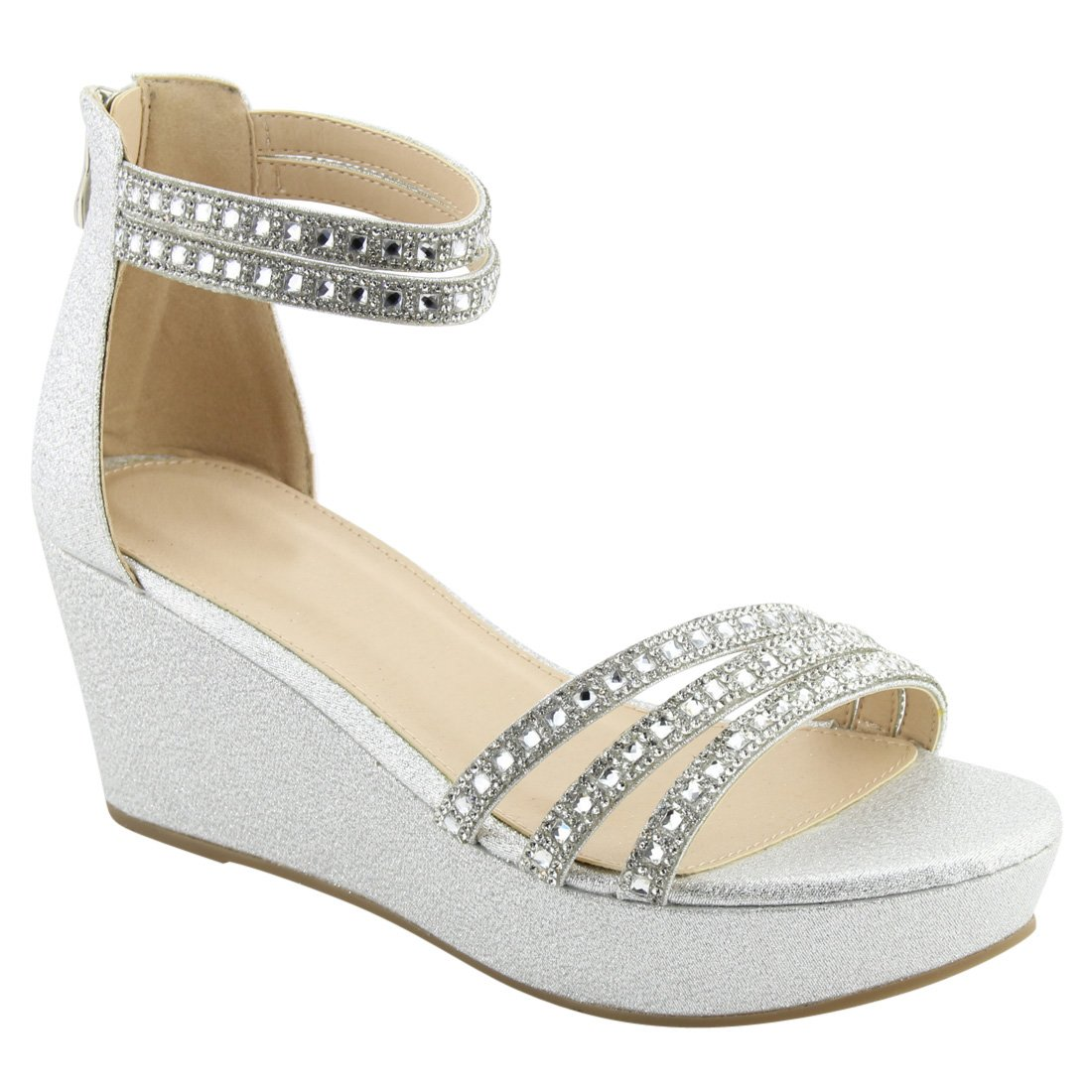 H?gl Buckle strap wedge sandals With Paypal Sale Online pcP40