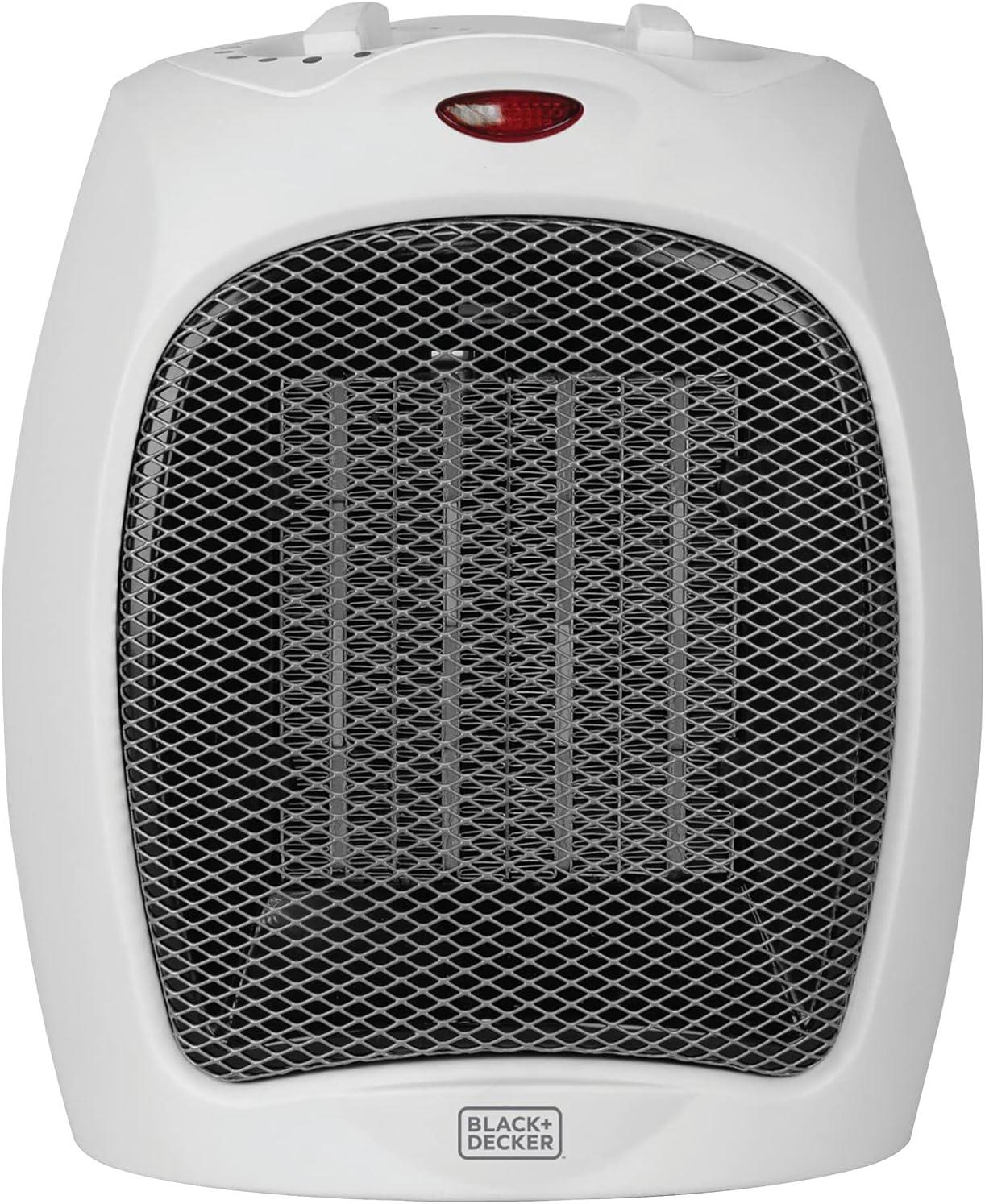 BLACK+DECKER Desktop Ceramic Space Heater $11.97 Coupon