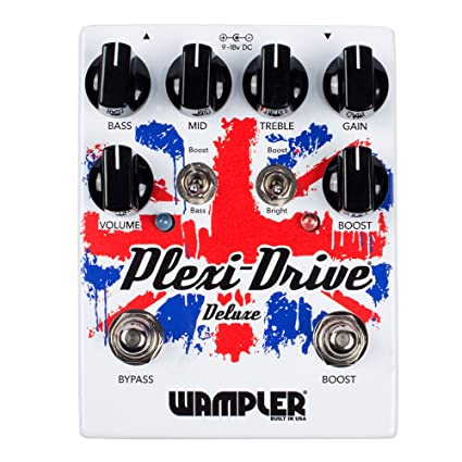 Wampler Plexi Drive Deluxe British Overdrive - Pedal de efectos para guitarra eléctrica