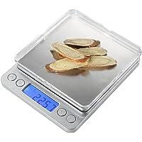 Mastore 500g High Precision Digital Pro Pocket mutfak & Jewelry ölçü, Lab ağırlık arkadan aydınlatmalı LCD ekran ile 0.001oz/0.01gresolution (Gümüş)