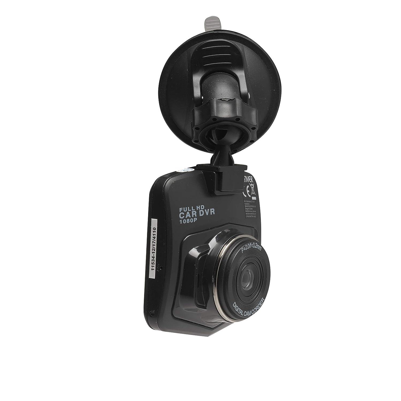 2.4 Zoll LCD-Display Denver Dashcam DV-20901 HD mit 6,1 cm