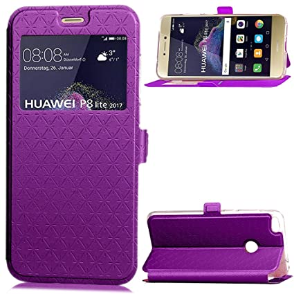 Amazon.com: P8 Lite (2017) / Honor 8 Lite Case, SATURCASE ...
