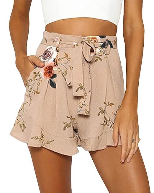 Only Damen Jeans Shorts Bermudas Denim Casual Used Look Kurze Hose Color Mix NEU