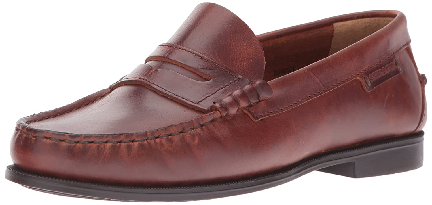 Sebago Women's Plaza II Penny Loafer B01B8WOB8A 9 B(M) US|Brown Oiled Waxy Leather