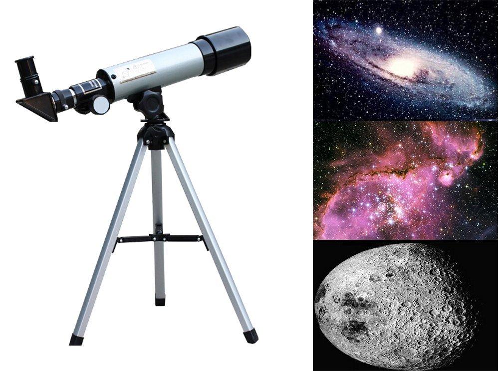 G Anica® Telescopio Astronomico con Trípode Telescopio refractor astronómico Ultra alto Claro