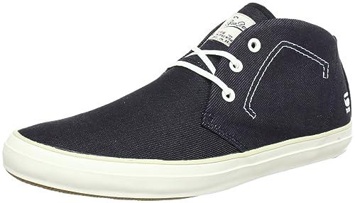 G-Star STUN Scupper Denim - Zapatilla Alta de Cuero Hombre: Amazon.es: Zapatos y complementos