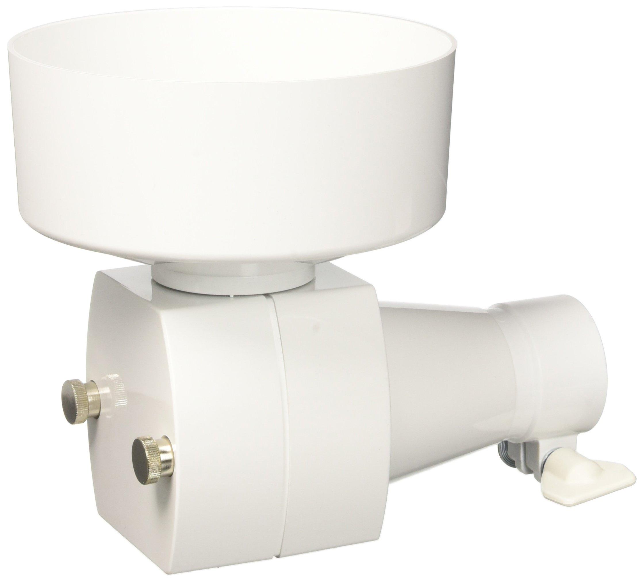 Ankarsrum Original White Plastic Flake Mill Attachment
