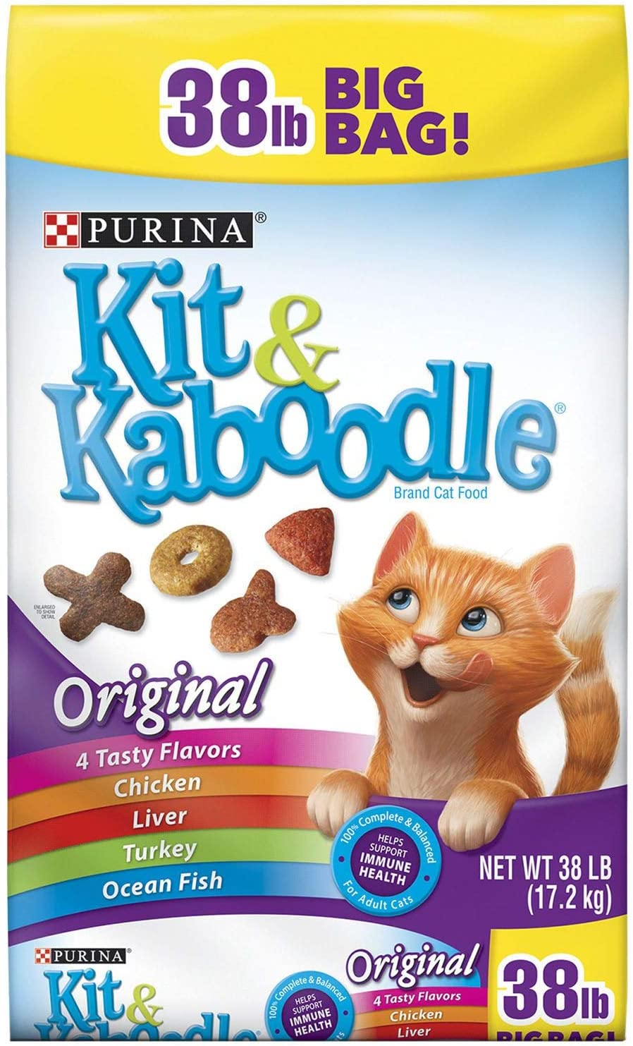Purina Kit & Kaboodle Original Adult Dry Cat Food