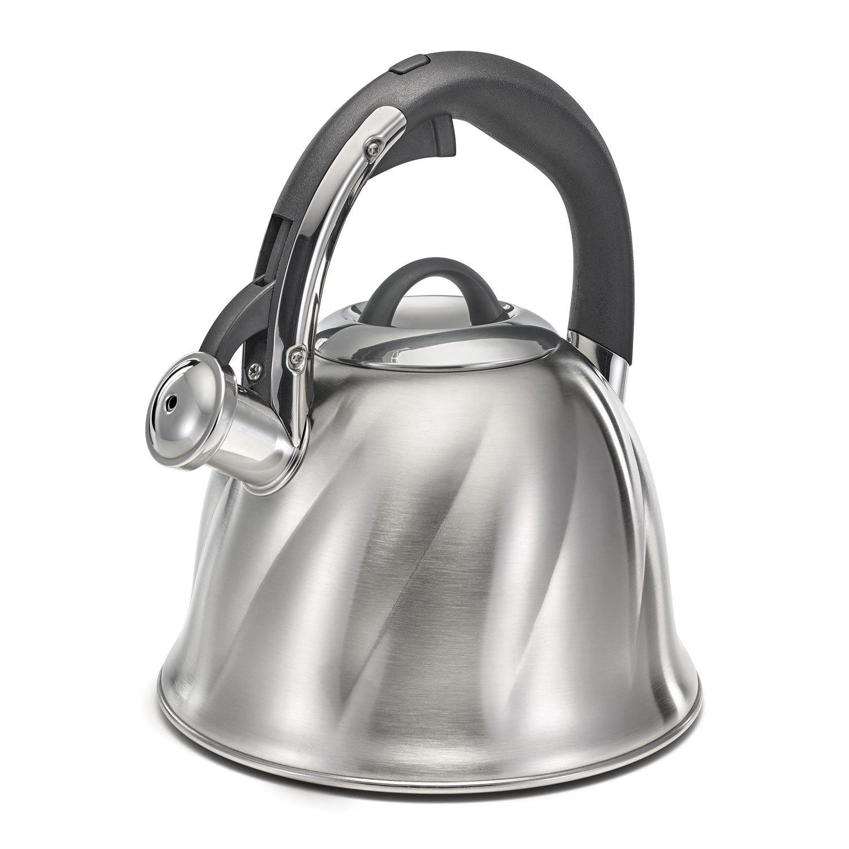 2.6qt S S Bell Tea Kettle